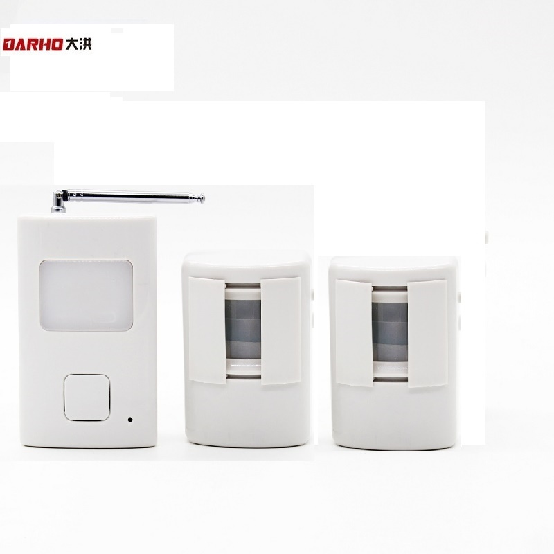Darho Superior Wireless Doorbells PIR Infrared Movement Entry Door Bell Welcome Alarm Chime Motion Sensor Detector System 300M ks v2 welcom chime bell sensor