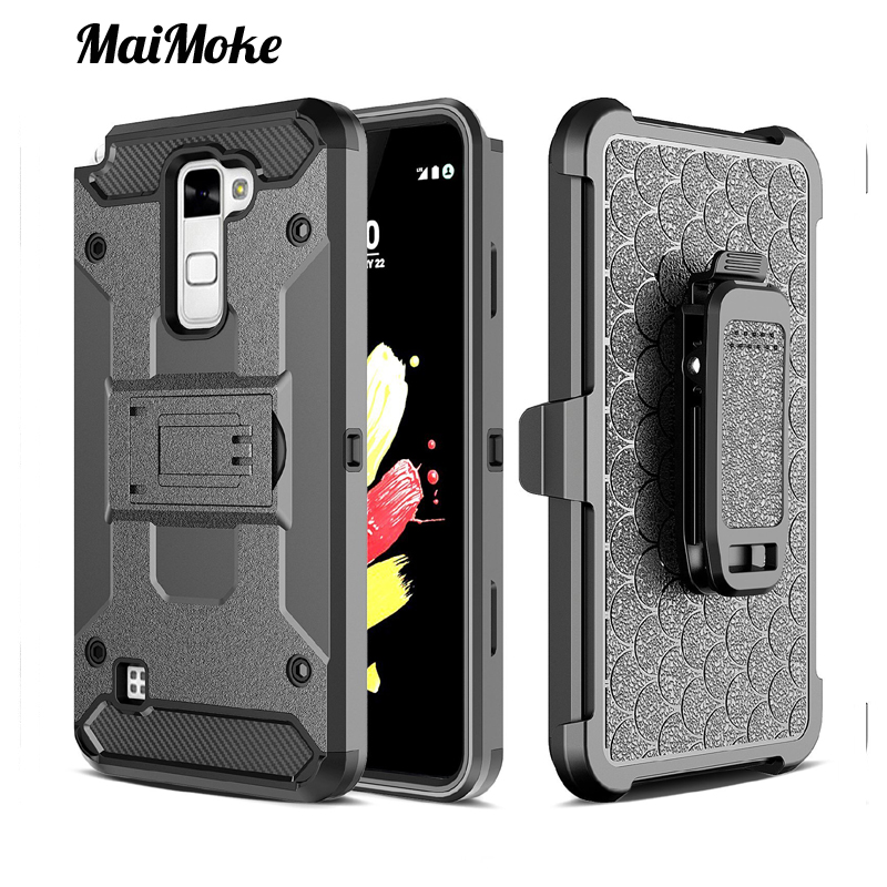 New Motion MaiMoke For LG K10 Case Luxury Armor Hard Plastic For LG V20 Case Back Clip Cover Call Phone Cover