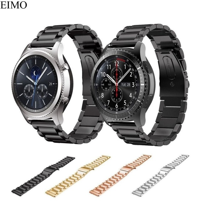 EIMO Watch Strap for Samsung Gear S3 Frontier/Classic Band 22mm Stainless Steel