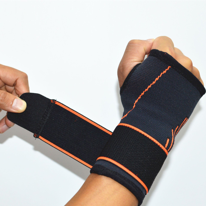 1PC Adjustable Thumbs Bracer Wrist Support Protects Fingers Wrist Supports Belt Protection Hand Pad Orthosis Therapy Pain Relief