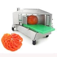 TS 316 Manual máquina de corte cortador de legumes Em aço Inoxidável máquina de corte fatia de tomate frutas Multi função helicóptero 1 pc|Processadores de alimentos| |  -