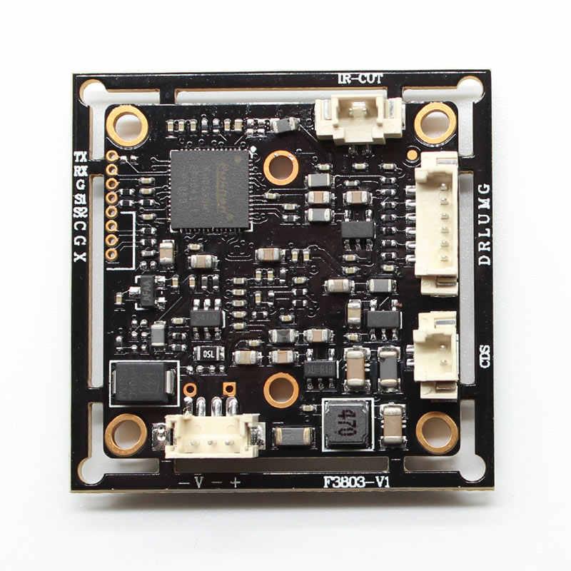"""HD 4.0MP 4w1 AHD TVI CVI CVBs bezpieczeństwa kamera telewizji przemysłowej moduł PCB płyta główna 1/3 """"FH8538 GC4603"""