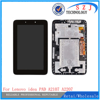 New 7 Inch For Lenovo Ideapad A2107 A2207 Replacement LCD Display Touch Screen Panel Digitizer Glass