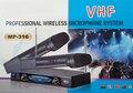 MP-316 Беспроводная Микрофонная Система Профессиональный Ручной Микрофон для Караоке Дома, пение, бар, клуб, партия