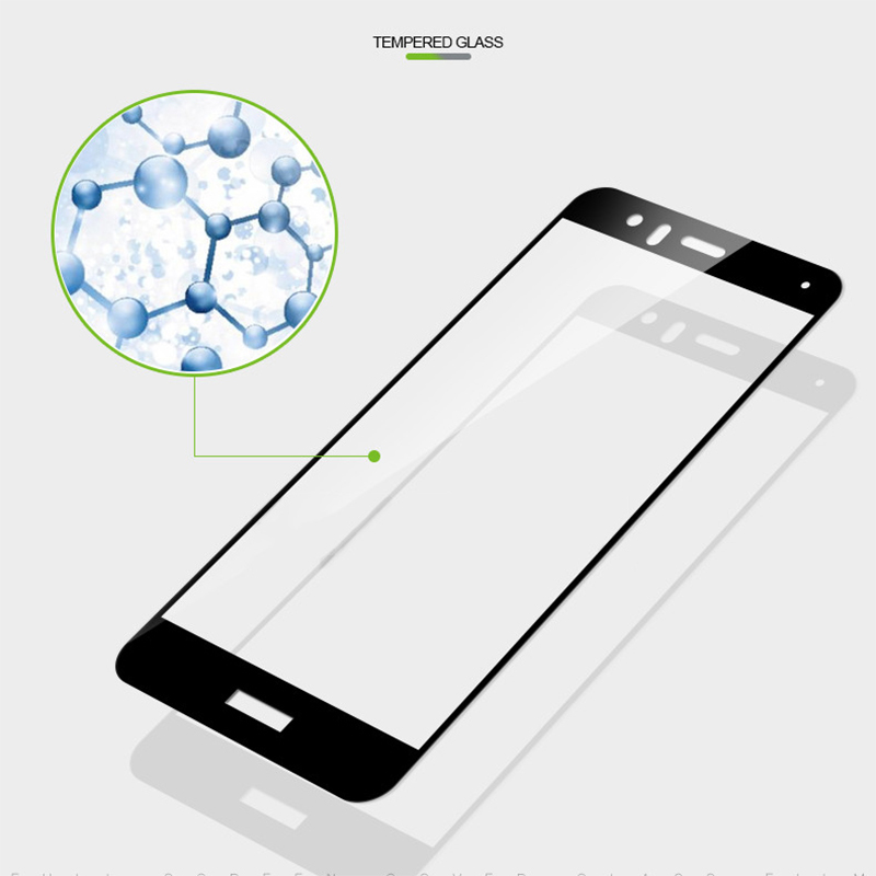 2x 3D Full Cover Tempered Glass For Huawei P20 Pro P10 P9 Lite Mate 8 9 10 Screen Protector Protective