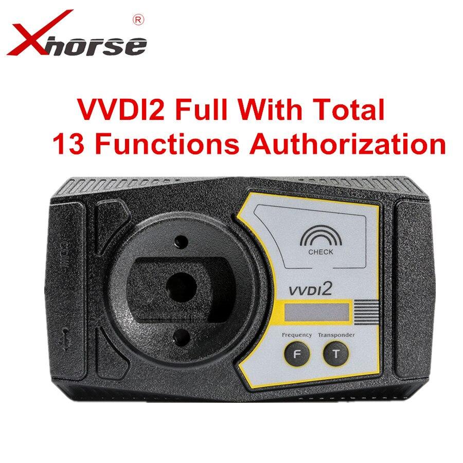 Xhorse VVDI2 Version complète V6.5.1 pour V-W/Audi/BMW/Porsche/PSA Plus pour BMW FEM BDC ID48 96bit ID48 OBDII MQB toute autorisation