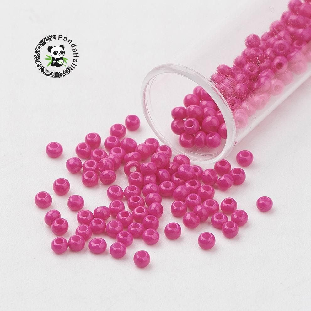 Wholesale 5000pcs 2mm Czech Glass Seed Round Spacer beads Jewelry Making
