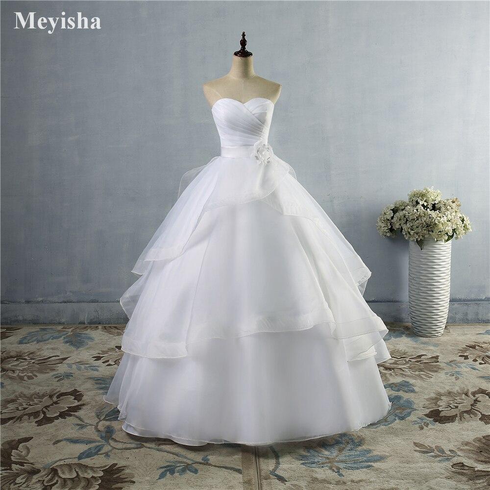 Size 24 wedding dresses promotion shop for promotional size 24 zj9043 belt flower bridal dresses white ivory wedding dress gown custom size 2 4 6 8 10 12 14 16 18 20 22 24 26 28 ombrellifo Choice Image