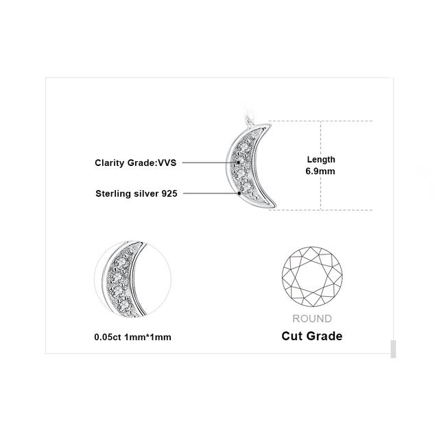 Moon Star Thread Drop Earrings