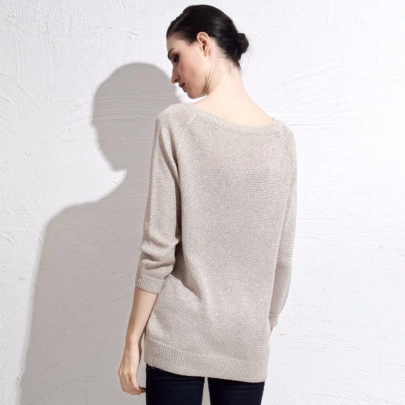 autumn grey women sweater 2