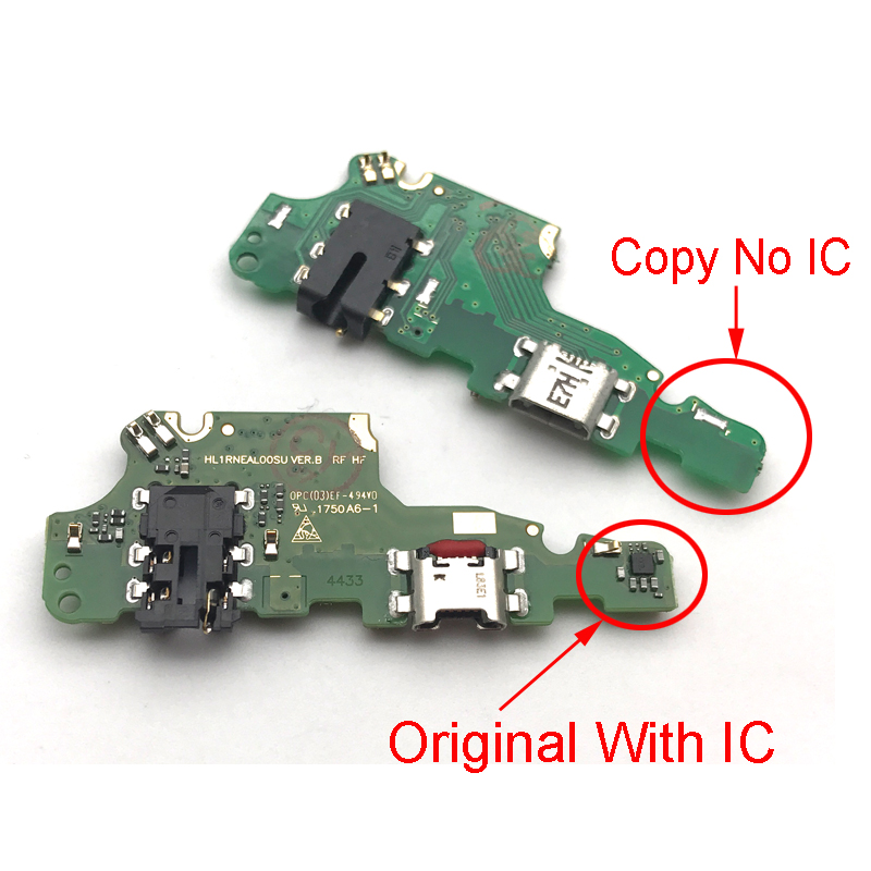 New For Huawei Mate 10 Lite Micro USB Port Dock Charger Connector Charging Flex Cable Board With IC Connector Parts