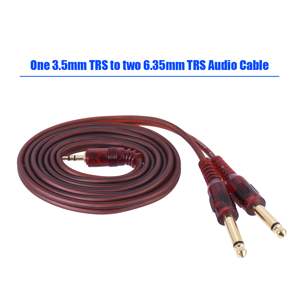 1.5m / 5ft Stereo Audio Cable Cord Wire 3.5mm 1/8\