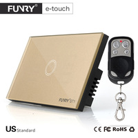 FUNRY Touch Switch 3 Gang 1 Way Smart Control On Off For Home Supplies UK Standard