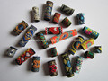 Free shipping 15Pcs/Lot mix fabric hair braid dread dreadlock beads clips cuff approx 8-12mm hole