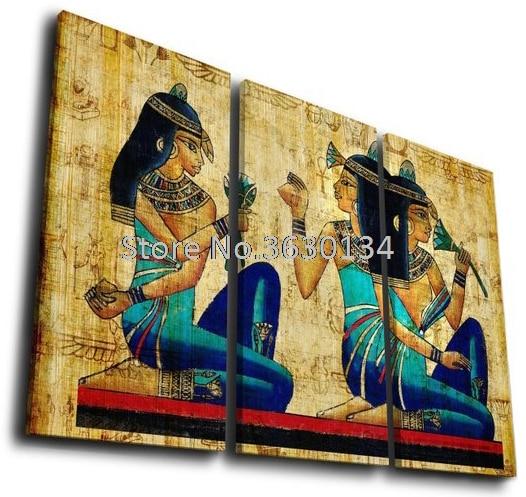 5D Diy diamond painting Portrait Series diamond embroidery Egyptian woman 3pcs square diamond mosaic full embroidery rhinestone
