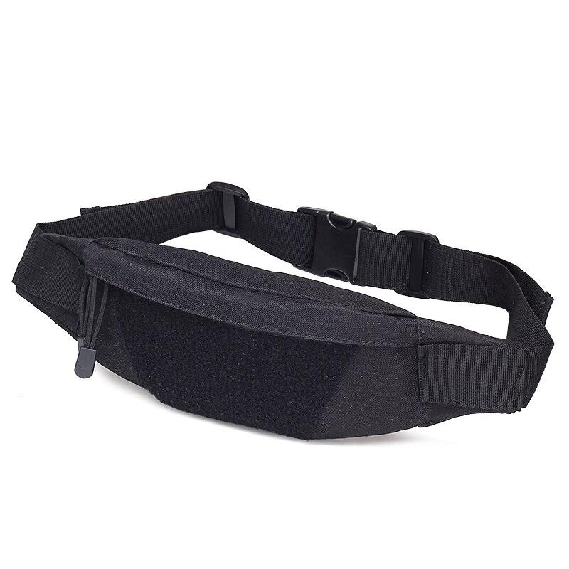 Men Nylon Waist Pack Belt Hip Bum Military Chest Bag Designer Male Motorcycle Riding Antitheft Purse Assault Small Fanny Bag