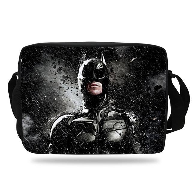 2017 Cool Batman Shoulder Bag For Children School Single Messenger Kids S Boys