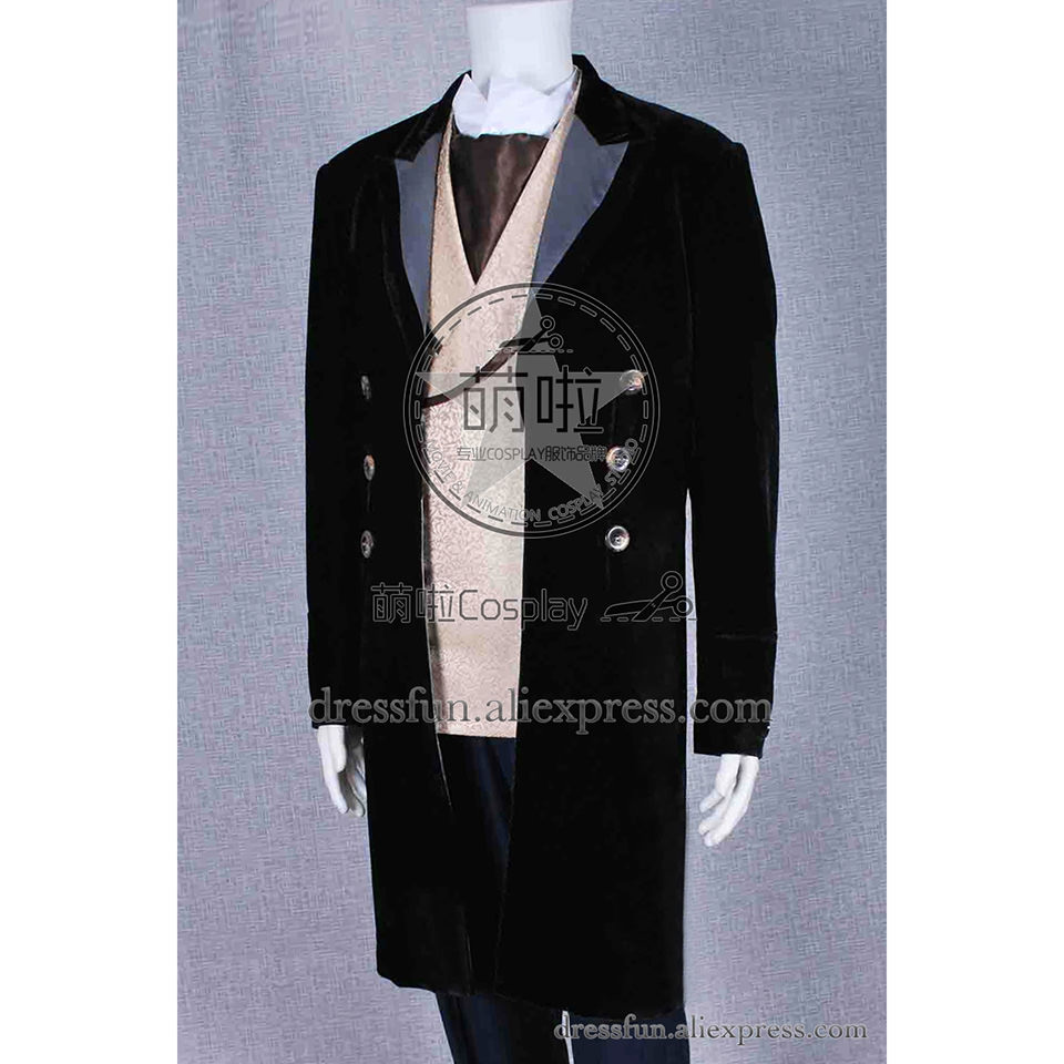 Who Buy Doctor Cosplay The 8th Eighth Dr Costume Uniform Whole Set High Quality