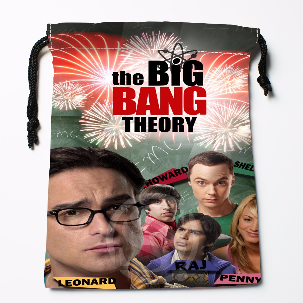 Fl-Q116 New Big Bang Theory 0w Custom Printed  Receive Bag  Bag Compression Type Drawstring Bags Size 18X22cm 711-#Fl116