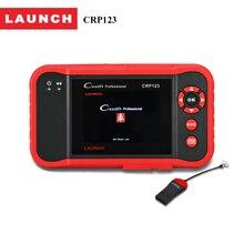 STARTEN codeleser Creader CRP123 Volle obd2 selbstdiagnosewerkzeug in Russische/Französisch/Spanien obd 2 scanner tester für ENG/AT/ABS/SRS