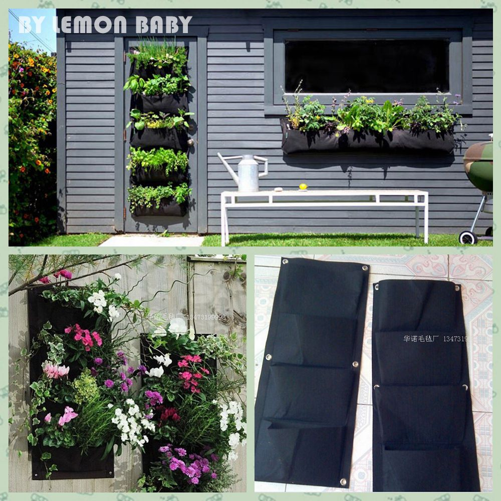 Marvellous Aliexpresscom  Buy  Or  Pockets Indoor Outdoor Wall Balcony  With Exciting Aliexpresscom  Buy  Or  Pockets Indoor Outdoor Wall Balcony Herbs Vertical  Garden Hanging Planter Bag For Plant Black High Quality Felt Cloth From  With Awesome Debbie Bliss Winter Garden Yarn Also Hansons Garden Centre Wakefield In Addition Garden Stencils And John Lewis Welwyn Garden Opening Times As Well As Garden Hose Sprayer Additionally Keter Plastic Garden Sheds From Aliexpresscom With   Exciting Aliexpresscom  Buy  Or  Pockets Indoor Outdoor Wall Balcony  With Awesome Aliexpresscom  Buy  Or  Pockets Indoor Outdoor Wall Balcony Herbs Vertical  Garden Hanging Planter Bag For Plant Black High Quality Felt Cloth From  And Marvellous Debbie Bliss Winter Garden Yarn Also Hansons Garden Centre Wakefield In Addition Garden Stencils From Aliexpresscom