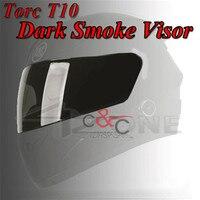 TORC T10 Prodigy Silver Fighter V2 Helmet Full face motorcycle helmet visor shield rainbow color