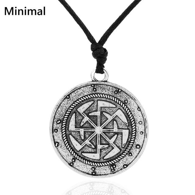 Teamer Vintage Pagan Talisman Magic Charm Necklace Symbol Of Wealth