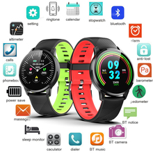Smart Wristband LIGE Full Touch Screen Heart Rate Monitoring Bracelet Mens Waterproof Fitness Pedometer Sports