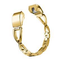 Fesyen baru berkualiti tinggi penggantian logam kecil kristal jam tangan tali pergelangan tangan band untuk Fitbit Alta HR / drop Alta apr16 penghantaran