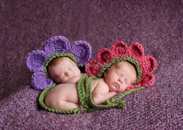 Crochet Newborn Photo Props