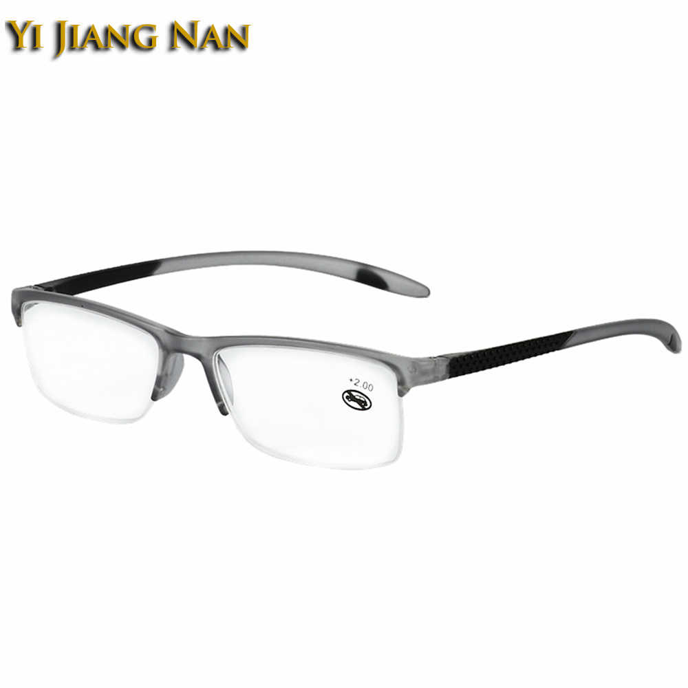 129d066ed0 Yi Jiang Nan Brand Women Simple Design Read Eyewear Anti Resistance Transparent  Lens Sport Style Optical