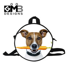 puppy round bag for boy