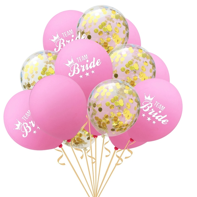 YORIWOO She Said Yaaas I Do Rose Gold Balloon Bride Wedding Team Bridal Shower Favors Hen Bachelorette Party Decorations To Be 3