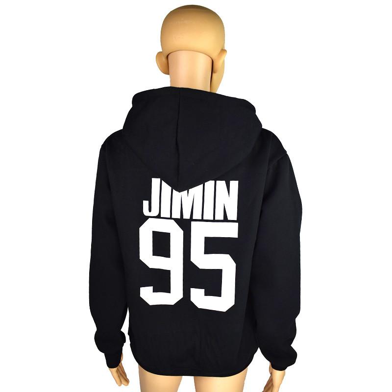 a2ccbab9 BTS Толстовки Кофты Jungkook J надеюсь, Jimin V Suga Хлопок Kpop BTS ...