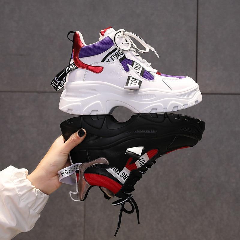 2019 Hot Sale Woman Casual Shoes 40 Plus Size Breathable Female Sneakers Woman Canvas Shoes 6cm Platform Sneakers2019 Hot Sale Woman Casual Shoes 40 Plus Size Breathable Female Sneakers Woman Canvas Shoes 6cm Platform Sneakers