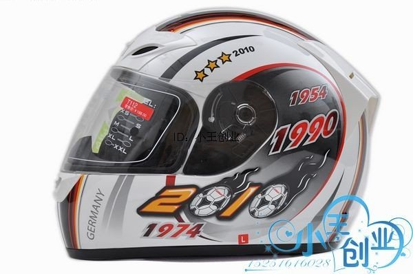 Freeshipping BCM001# BEON B-500 Classic Full Face Helmet Winter Helmet Racing Helmet International Version Motorcycle HelmetsN14