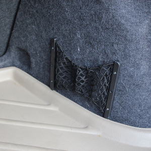 Trunk storage compartment net
