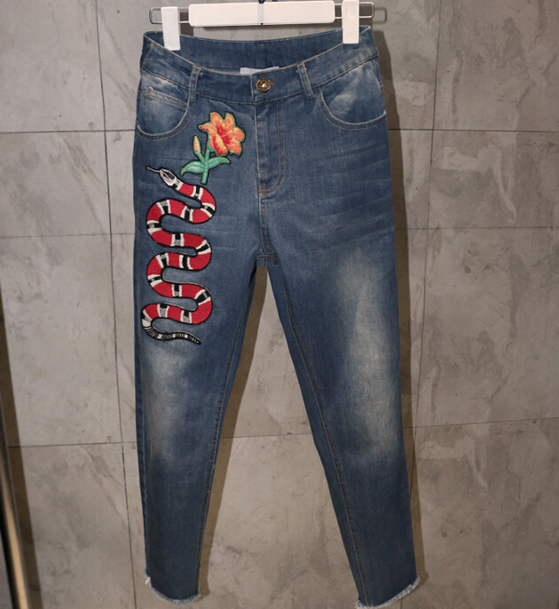 Online Buy Wholesale Ladies Embroidered Jeans From China Ladies Embroidered Jeans Wholesalers ...