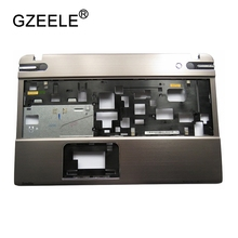 GZEELE NEW Palmrest cover C shell case For TOSHIBA P850 P855 Silver Lap