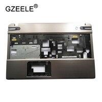 GZEELE NEW Palmrest cover C shell case For TOSHIBA P850 P855 Silver Laptop Base Upper Case Keyboard Bezel Shell