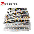 WS2812B Led Strip 1m/2m/4m/5m WS2812 Smart RGB Led Light Strip 30/60/74/96/100/144 pixels/leds/m Black/White PCB IP30/65/67 DC5V