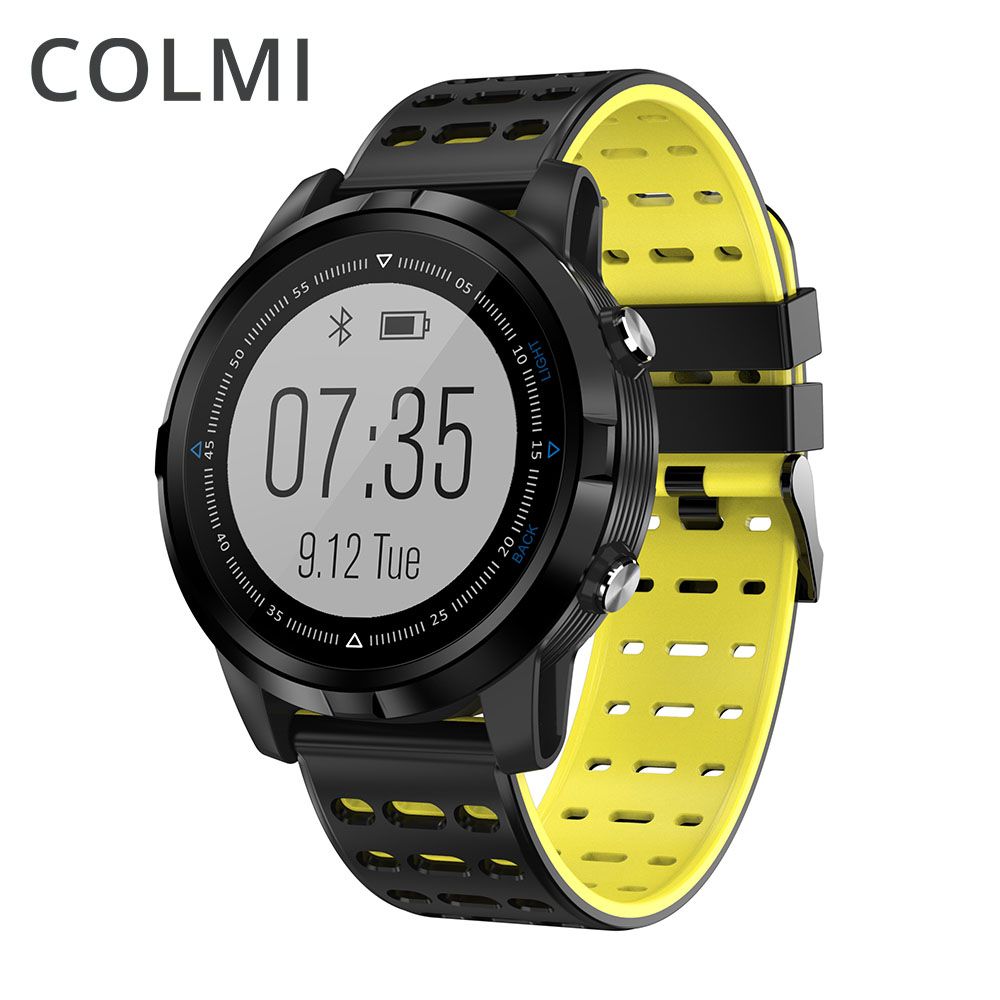 COLMI Full Touch GPS Smart Watch IP68 Waterproof Heart Rate Monitor Activity Tracker Multiple Sports Modes Smartwatch For Men