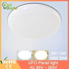 Lampada-Led-Lamp Panel-Light Surface-Mounted Led Round 9W 18W 13W 36W 85-265V