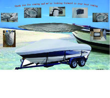 600D PU Coated  Heavy Duty Trailerable Boat Cover,17′-19'X96″,Classic Accessories,High Quality Waterproof,UV anti,marine grade