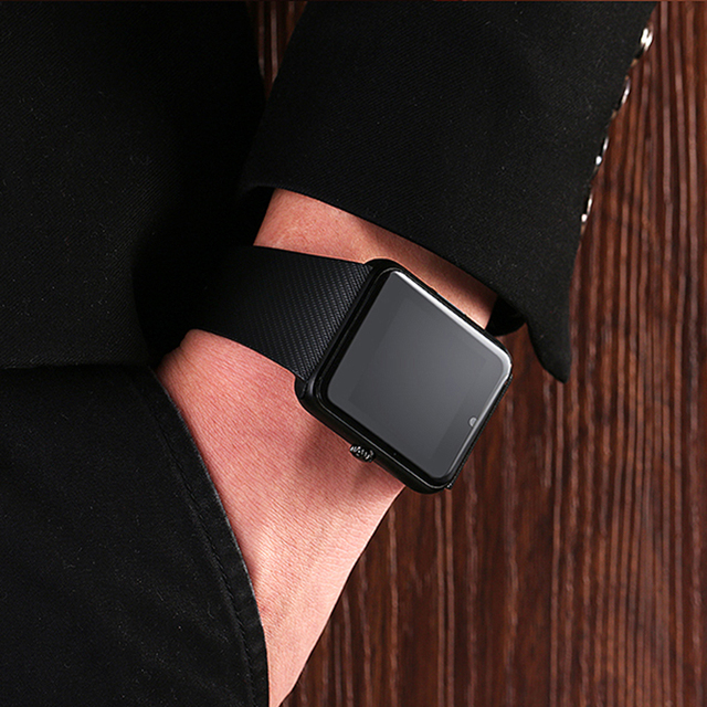 [ Top Seller] Lemse GT08 Bluetooth Smart Watch wearable devices Support SIM TF Card MP3 Smartwatch For apple Android OS phone