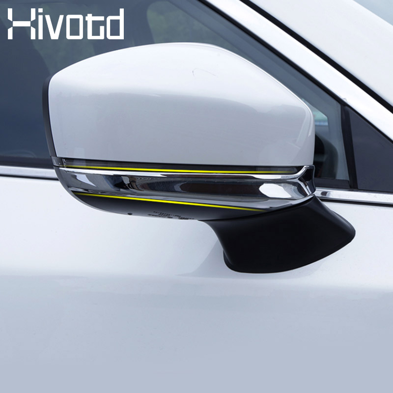 Hivotd For <font><b>Mazda</b></font> CX-5 <font><b>CX5</b></font> <font><b>Accessories</b></font> High Quality ABS Chrome Car Door Side Rearview Mirror Cover Exterior production Trim 2017 image