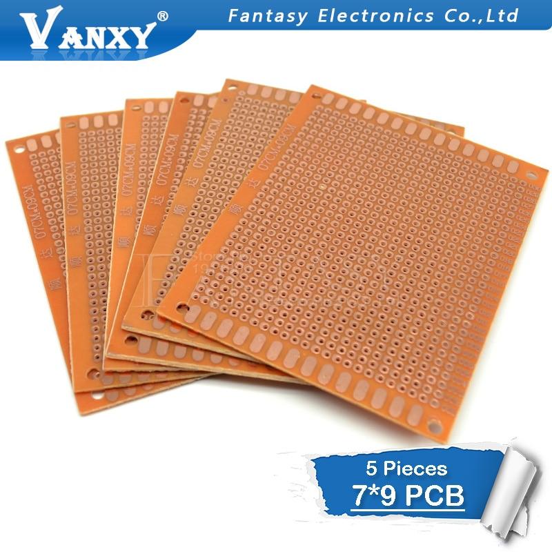 5Pcs 7x9cm 7*9 DIY Prototype Paper PCB Universal Experiment Matrix Circuit Board