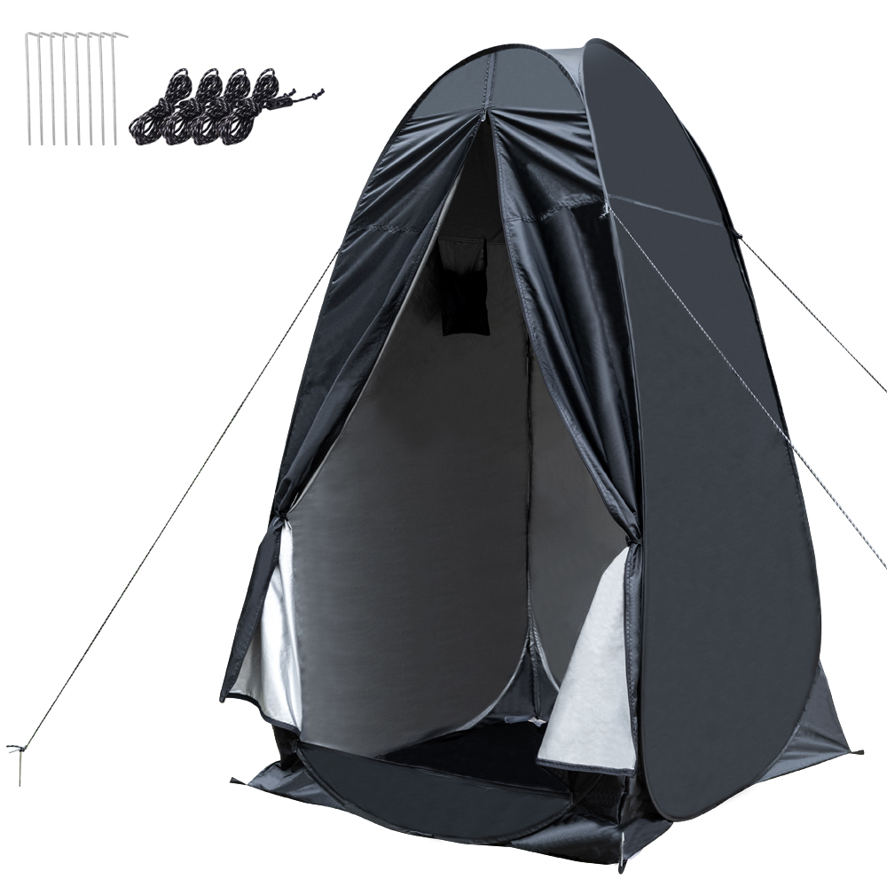 Portable Pop Up Privacy Shower Tent Dressing Changing Tent Beach Camp Toilet Shower Changing Room Spacious