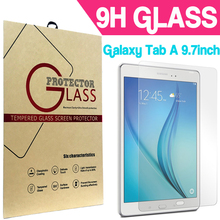 For Samsung Galaxy TAB A 9.7 T550 T551 T555 Ultrathin Premium Explosion-Proof Tempered Glass Screen Protector W/ Retail Package