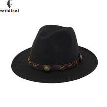VERIDICAL Новинка, шляпа от солнца, ковбойская шляпа для мужчин и женщин, кепки для путешествий, джазовая шляпа, хорошее качество, ковбойские шляпы Chapeu, 12 цветов